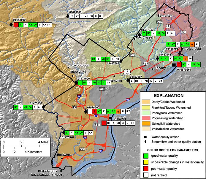 USGS Pennsylvania WSC: Monitoring Program with the Philadelphia ...